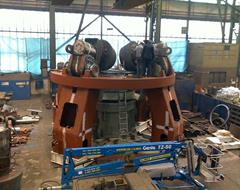 Assembly of roller mill
